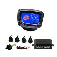 4 Parking Sensors LCD Car Backup Reverse Radar Kit  dropshipping 1546