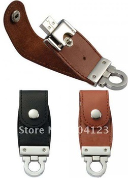 free shipping NEW leather 2GB 4GB 8GB 16GB 32GB USB 2.0 Memory flash disk Flash Drive drop shipping