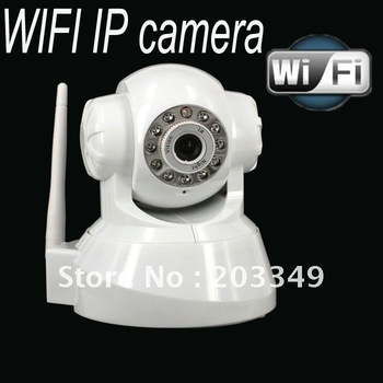 2 way audio IP camera WIFI wireless CCTV IP Camera Android / iphone supported - CPAM Free Shipping