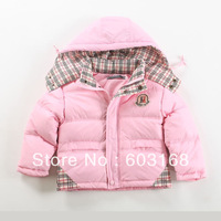 New Good-looking Beautiful Girl's Duck Down Jacket Children's Outerwear[iso-12-8-1-1A]