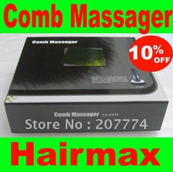 Free shipping Comb For Hair Care Treatment Hairmax Laser Hair comb massager comb(China (Mainland))