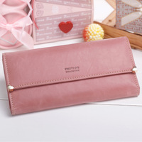 Retail ladies wallets, women's wallet, PU handbag,Free shipping 1012