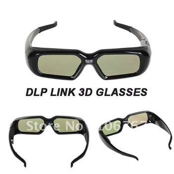 Freeshipping active shutter  DLP Link 3D Glasses for DLP Projector 3d projector hdmi new products looking for distributor