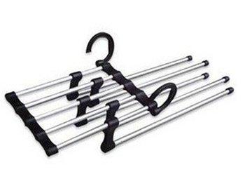 Magic Trousers Hanger/Metal Rack Multifunction Pants Hanger ZHW013