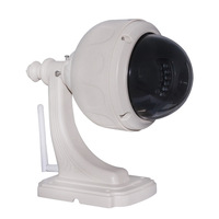 Wireless Megapixel HD High Definition 3x Varifocal Zoom Pan/Tilt PTZ H.264 IR Cut WiFi Outdoor Security Network IP Camera PoE