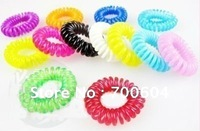 2014 hair circle Fashion candy colors Elastic Bands/ Hair Ties Hair Accessories Bracelet  YJH154 Jewelry wholesale
