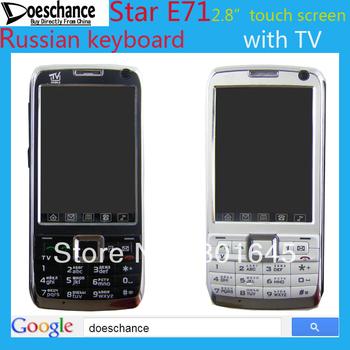 Star E72  E71 Russian Language Keyboard TV Phone