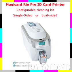 Magicard Rio Pro card Printer single-sided,high quality magicard printer,high function card printer(China (Mainland))