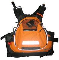 2011 Shakoo Brand kayak life jacket, life vest,PFD,450D MAX Nylon swim cest orange 10pcs/carton