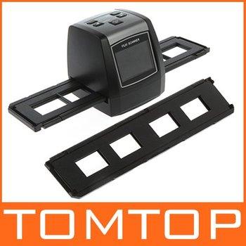 """Discount ! 5MP Digital Film Negative Photo Scanner / Converter 35mm USB LCD Slide  2.36"""" TFT"""