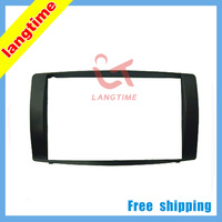 Free shipping--car refitting dvd frame front bezel dvd panel for 08-2013 BYD F3 , 2DIN