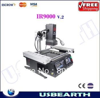 Free Shipping 110V & 220V LY BGA Upgraded IR9000 v.2 Infrared BGA Rework Stations SMD/SMT Soldering machine
