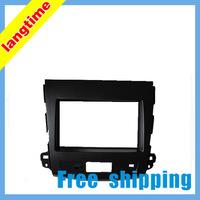 Free shipping-Car refitting DVD frame,DVD panel,Dash Kit,Fascia,Radio Frame,Audio frame for MITSUBISHI 08 OUTLANDER