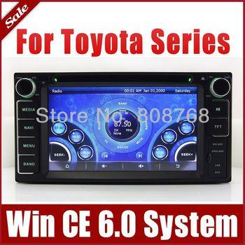 Car DVD Player for Toyota Hiace Fj Cruiser Alphard Previa Gl with GPS Navigation Radio TV BT USB SD AUX iPod Map 3G Audio SatNav