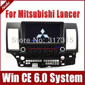 "8"" 2-Din Auto Radio Car DVD Player GPS Navigation for Mitsubishi Lancer 2007-20132 w/ Bluetooth TV USB Map 3G Stereo Audio Video"