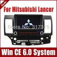 "8"" 2-Din Auto Radio Car DVD Player GPS Navigation for Mitsubishi Lancer 2007-20132 w/ Bluetooth TV USB Map 3G Stereo Audio Video"