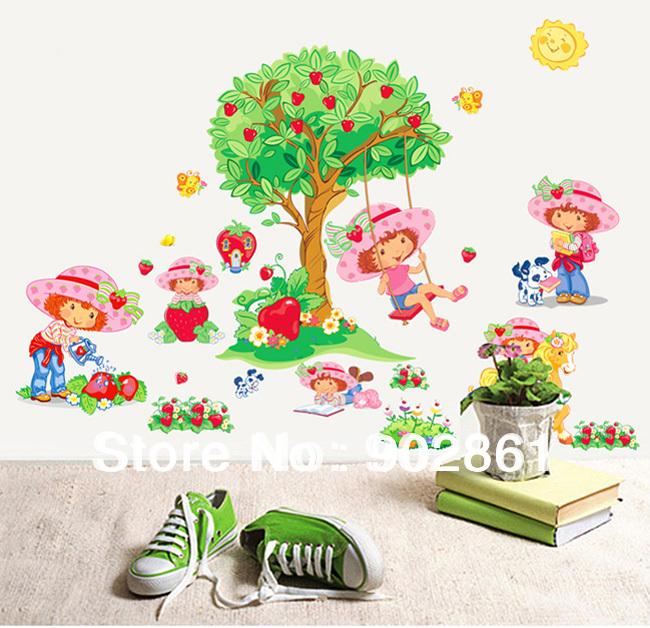 Online kopen wholesale wall decals for baby nursery uit china wall decals for baby nursery - Muur kamer meisje ...