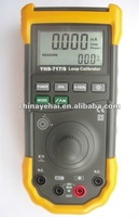 Digital Loop Process  Calibrator with Rechargeable battery