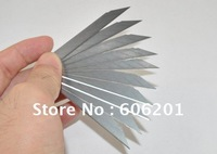 9mm Hight Carbon SK-7,12 Cases&30 Degrees Acute Angle International Utility Knife Blade (9*72*0.38mm A44S)--10Pcs/Pack