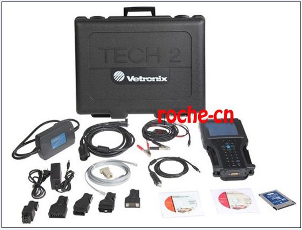 2014 GM TECH2 support 6 software (GM,O-PEL,SAAB,ISUZU,SUZUKI,HOLDEN) Full set diagnostic tool Vetronix tech 2 with Candi--(1)(China (Mainland))