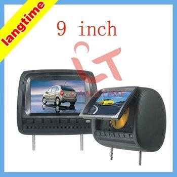 T999D -9 inch headrest  DVD player/USB,SD port/digital panel and 32 bit games