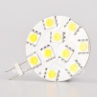 LED G4 Base Lamp 10 SMD 5050 Work under 12VAC&12VDC&24VDC&24VAC 200-220LM Yachts Plane House Automobiles Light