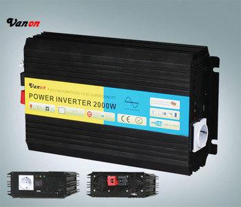 2000W/2KW 12V DC TO 220V AC Pure Sine Wave Power Inverter  (4KW peak power) Universal/germany/french/australia socket available