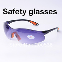 BIG SALES. Promotion cheapest work glasses , safety goggles,satety glasses retail,Pouch for free YZ2018