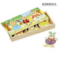 Fantastic pretty ant/mouse clothes changing jigsaw puzzle