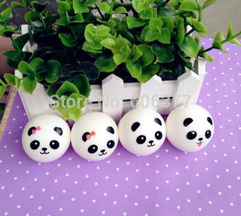 4 STYLES Kawaii Mini Panda Couple Squishy Cell Phone Charm/Free Shipping