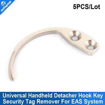 5pcs/lot EAS Hard Tag Detacher Hook Key Handheld Mini Security Detacher