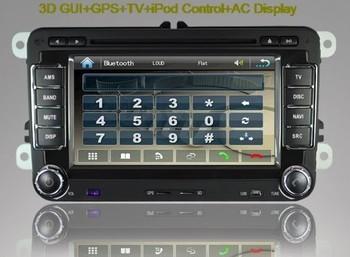 VW Car DVD Headunit with GPS TV Radio for Volkswagen BORA POLO CADDY PASSAT CC MK6 TIGUAN JETTA SCIROCCO SHARAN EOS SEAT TOURAN
