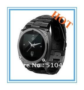 Free shipping HOT TW818 watch phone GSM quad band 1.6 inch touch screen java camera FM(China (Mainland))