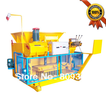 Concrete block making machine QMY6-25 concrete block machine price