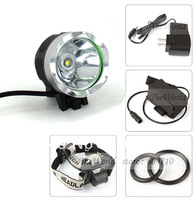 Bike Light T6 Bicycle Light 12W 1800 Lumens Front Light LED HeadLamp + 8.4v Battery Pack + Charger