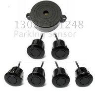 Guaranteed 100% Reverse Sensor Parking Radar New Only Buzzer Car Parking Sensor System with 6 Sensors