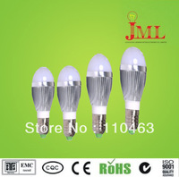 Free shipping  E27 3W 5W 7W best quality  (5pieces/lot) 100%LED bulb residential lamp / light 300LM 85-265V