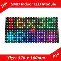 Evershine P10 Indoor SMD3528  RGB LED panel screen unit pcb module Directly Factory Price