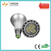 Free shipping 10pcs/lot E14 4W JDR LED spotlight