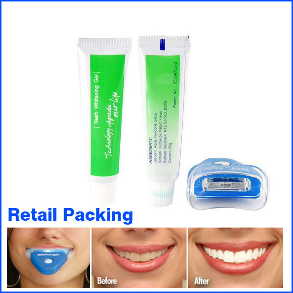 Dental White light teeth whitener Teeth Whitening System Whitelight SEEN ON TV Free Shipping(China (Mainland))