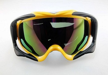 5PCS/lot Camouflage Snow Goggles Ski Goggle Colored Lens Snowboarding Sport Winter free shipping