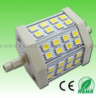 Free DHL! 5W 8W 10W 12W 15W SMD5050 LED R7s light,Dimmable AC85-265V,White 2800-7000K,replace Halogen Floodlight,CE,RoHS