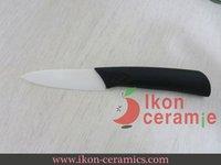 """Free Shipping! High Quality 3"""" Ikon Ceramic fruit knife New 100% Zirconia ceramic knife (AJ-3001W-CB)"""