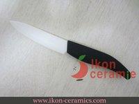 """Free Shipping! High Quality 4"""" Ikon Ceramic fruit knife New 100% Zirconia ceramic knife (AJ-4001W-AB)"""