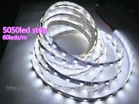 high quality 10m/lot 12V 300SMD 5050 Stripe Led Light,R/G/B/Y/W/WW Flexible Led Light strip non-waterproof