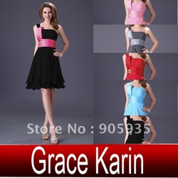 New Arrival!! Stylish Free Shipping 1pc/lot Women&#39;s Short Formal Party Evening Prom Cocktail Dresses, Lace up back CL1004(China (Mainland))