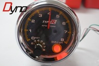 3.75'' Electrical Tachometer Guage Carbon Surface And Shift Light Tachometer