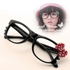 Free Shipping 10Pcs/lot Fashion Jewellery children sunglasses Holle Kitty glasses frames 4 color Dot Bow cheap eyeglass frames