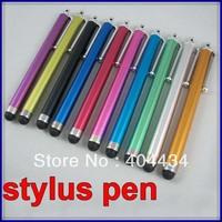 Capacitive Touch Pen metal  HD Stylus pen For iPhone 3G 3GS 4 4G tablet 10 colors 1500pcs/lot