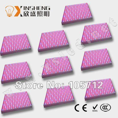 Освещение для растений XS(Hua Han Yun) 10Panel 140W DHL Fedex 225 /14w XS-GL-14W-003